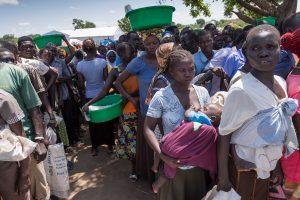 Bidibidi Camp au nord de l'Ouganda accueil plus de 270,000 réfugiers victimes du conflit Sud Soudanais.