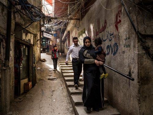 Bourj el-Barajneh, 19.03.2016 - Das Fluechtlingscamp mit palestinaensischen Syreren in Bourj el-Barajneh im Sueden von Beirut, Libanon.   PHOTO: HEKS/PASCAL MORA